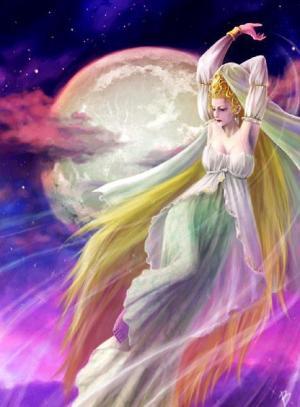 月亮女神,moon goddess