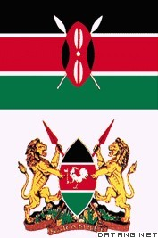 肯尼亚国旗  国徽图片