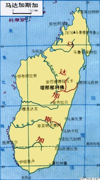 地图:马达加斯加