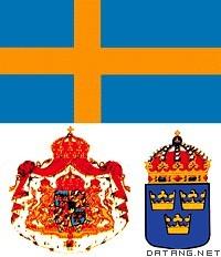 瑞典国旗 国徽图片
