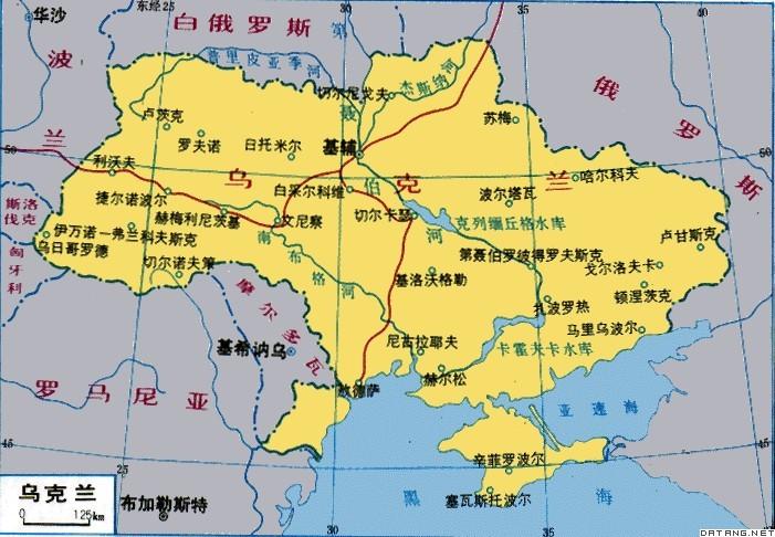 北接白俄罗斯