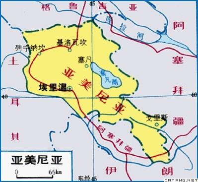 俄罗斯与伊朗地图