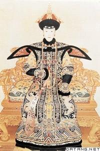 清代皇后朝服图片