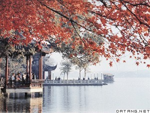 杭州西湖周围,around West Lake in Hangzhou,音